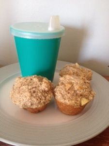 Baby Apple Muffins – Uses infant oatmeal (baby cereal) and so yummy that everyone in the family likes them