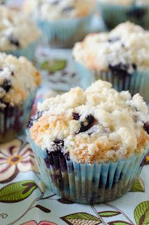 Crazy Deliciousness: The BEST Blueberry Muffins these REALLY are the BEST! The texture is great! They bake