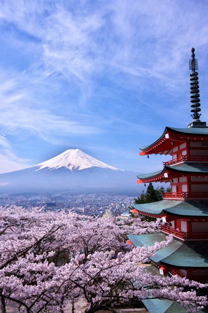 the World Heritage, Mt. Fuji, Japan 富士山