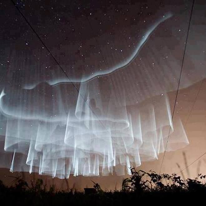 Amazing Aurora Borealis over Finland