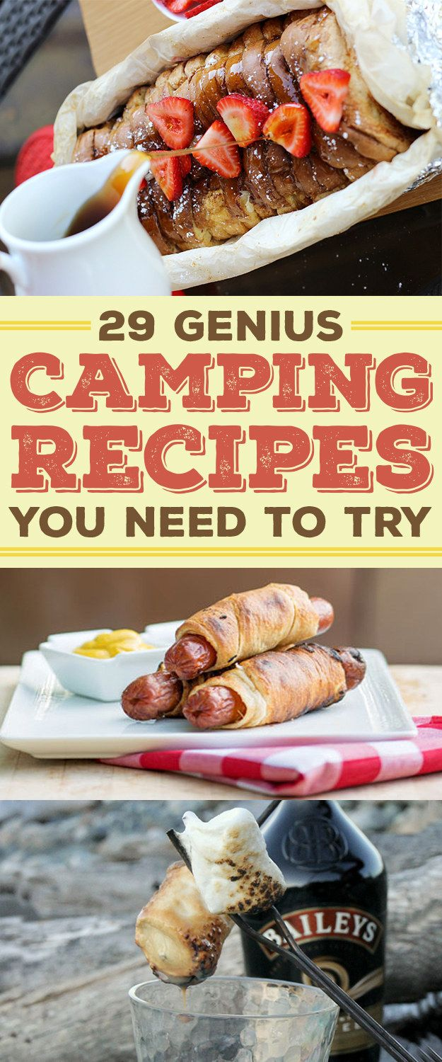 We all know the best part of camping is the food.
