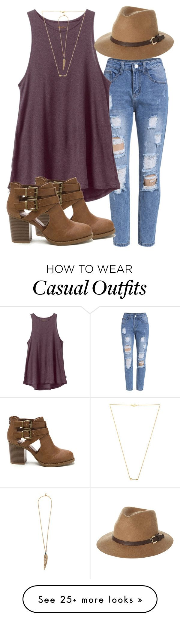"""Casual"" by j2205 on Polyvore featuring RVCA, Rusty, Wanderlust + Co, Roberto Cavalli, women's clothing, w"