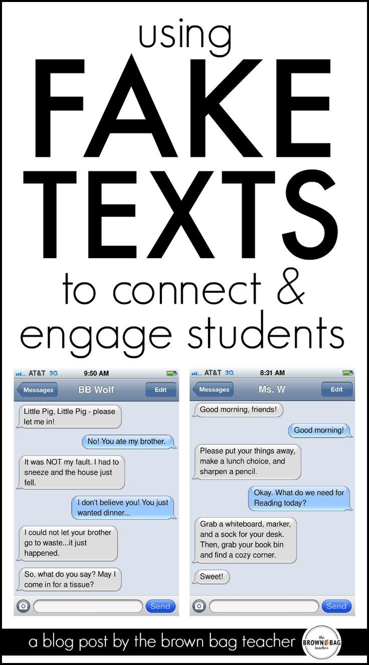Texting in the Classroom – great ideas for using text messages to introduce vocabulary and upcoming learni