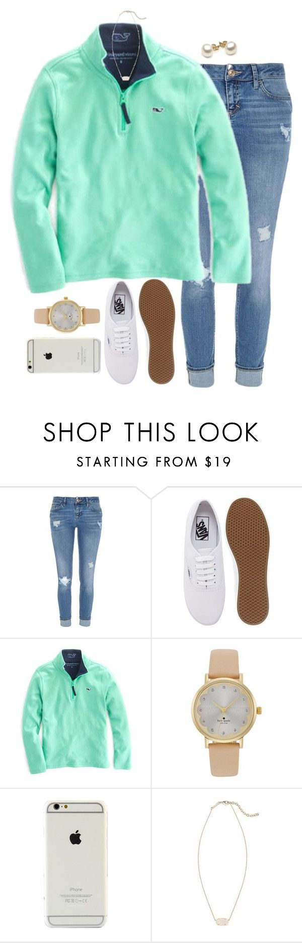 """back at it again with the white vans!!"" by evamstewart24 ❤ liked on Polyvore featuring River Island, Va"