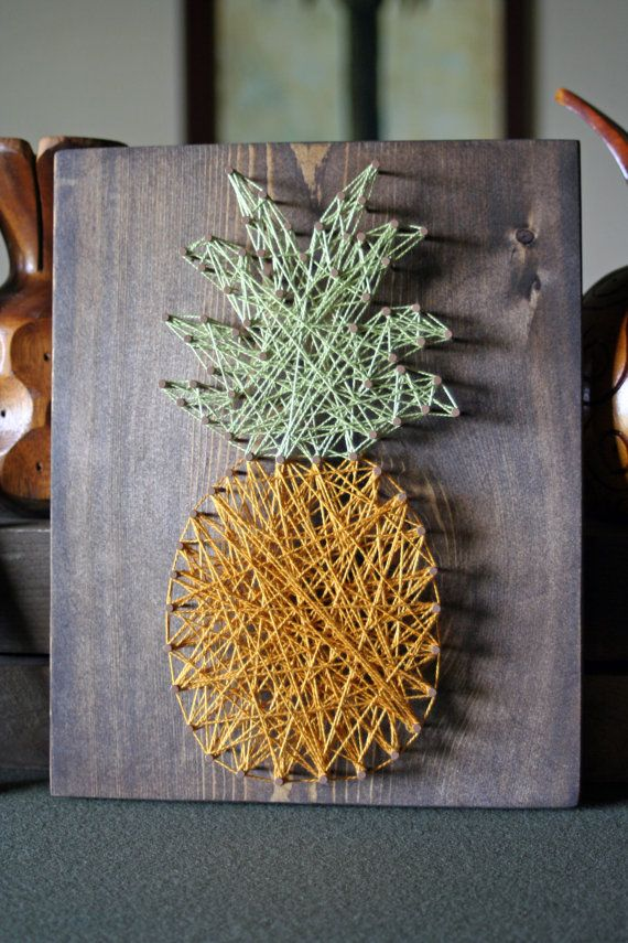 The Pineapple Crate – String Art by mulberrycrate