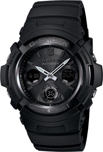 Casio – G-Shock Solar Atomic Watch AWGM100B-1A (Black)