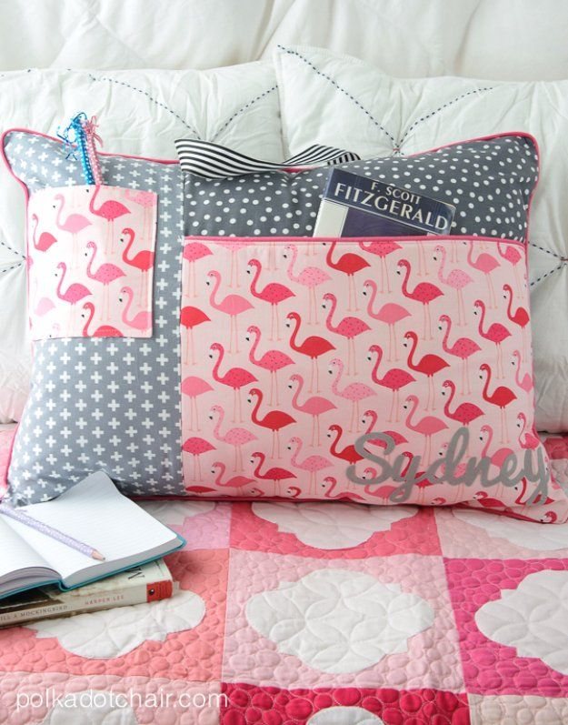 Easy Sewing Projects to Sell – Study Pillow Sewing Pattern – DIY Sewing Ideas for Your Craft Business. Mak