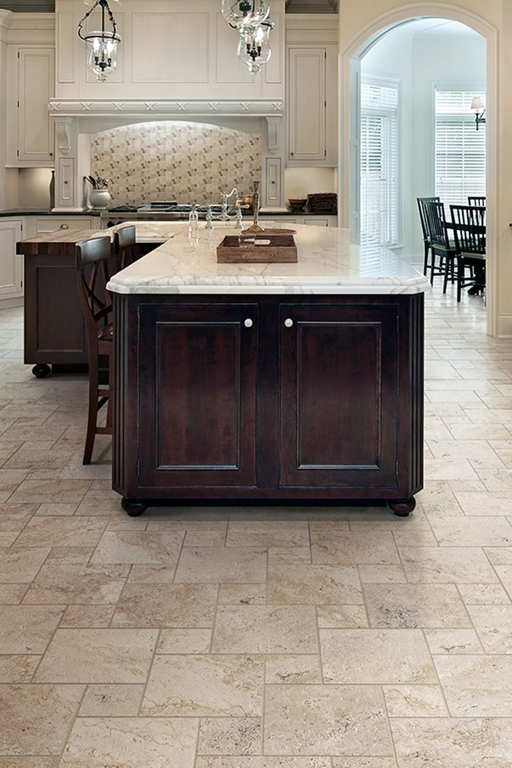 You can get the luxurious look of travertine for the cost of ceramic tile. Using special technology to rep