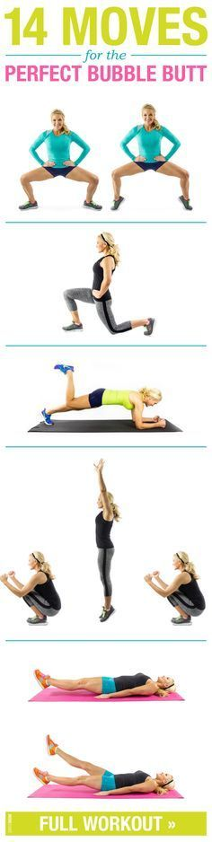 Get a nice and toned booty with these moves