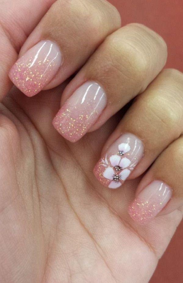 pink  nail art 17 – 50 lovely Pink Nail Art Ideas   ♥