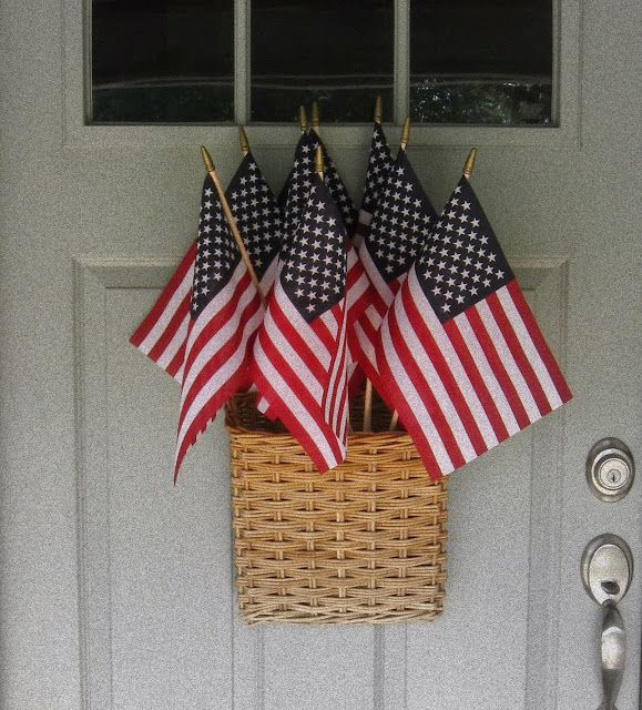 So cute for the 4th of July, Memorial Day or Veteran's Day