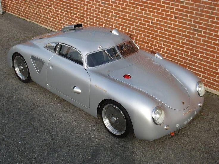 1955 Porsche 365 Silver Bullet