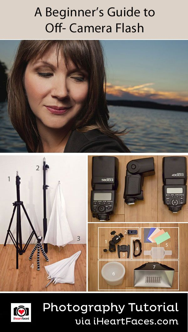 Beginner's Guide to Off-Camera Flash by Amandalynn Jones for iHeartFaces.com