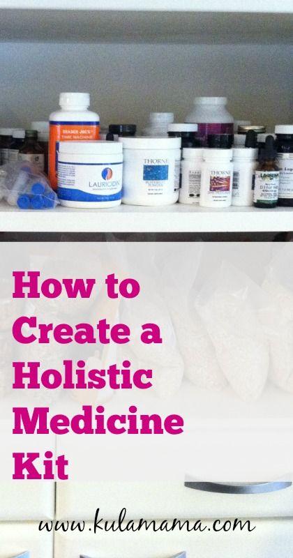 holistic medicine kit essentials from kulamama.com