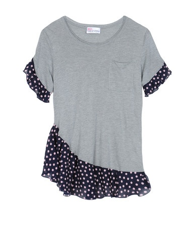 T-Shirt Refasion Inpiration   from Red Valentino – this t-shirt was priced at $165.00 on SALE! Inspira