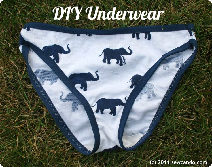 How to make underwear or panties yourself – (full tutorial & how to make your own pattern – JD)