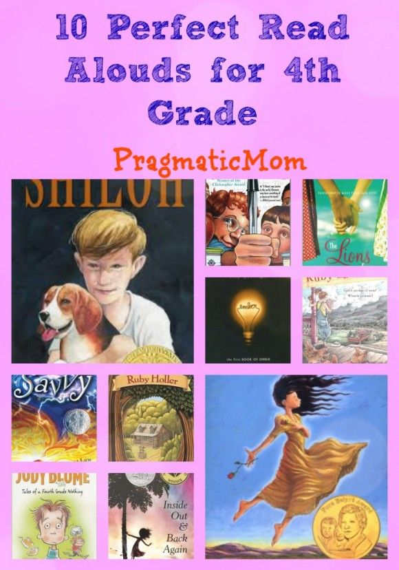 What are your favorite books for 4th grade? Here are mine.10 Perfect Read Alouds for 4th Grade :: Prag
