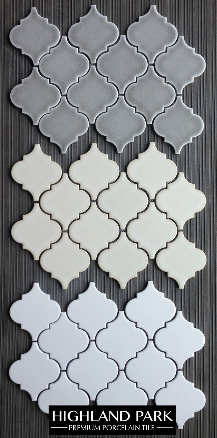 Highland Park Arabesque Porcelain Mosaic Tile for $11.50 a square foot is a great choice for a kitchen