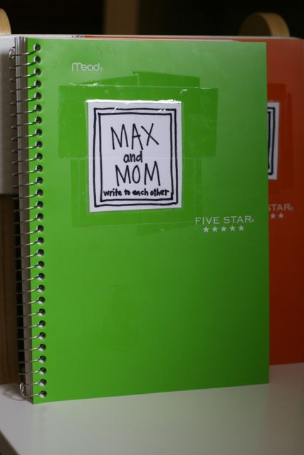 Back and forth journals for Mom and kids. I really love this idea for kids who keep their feelings ins