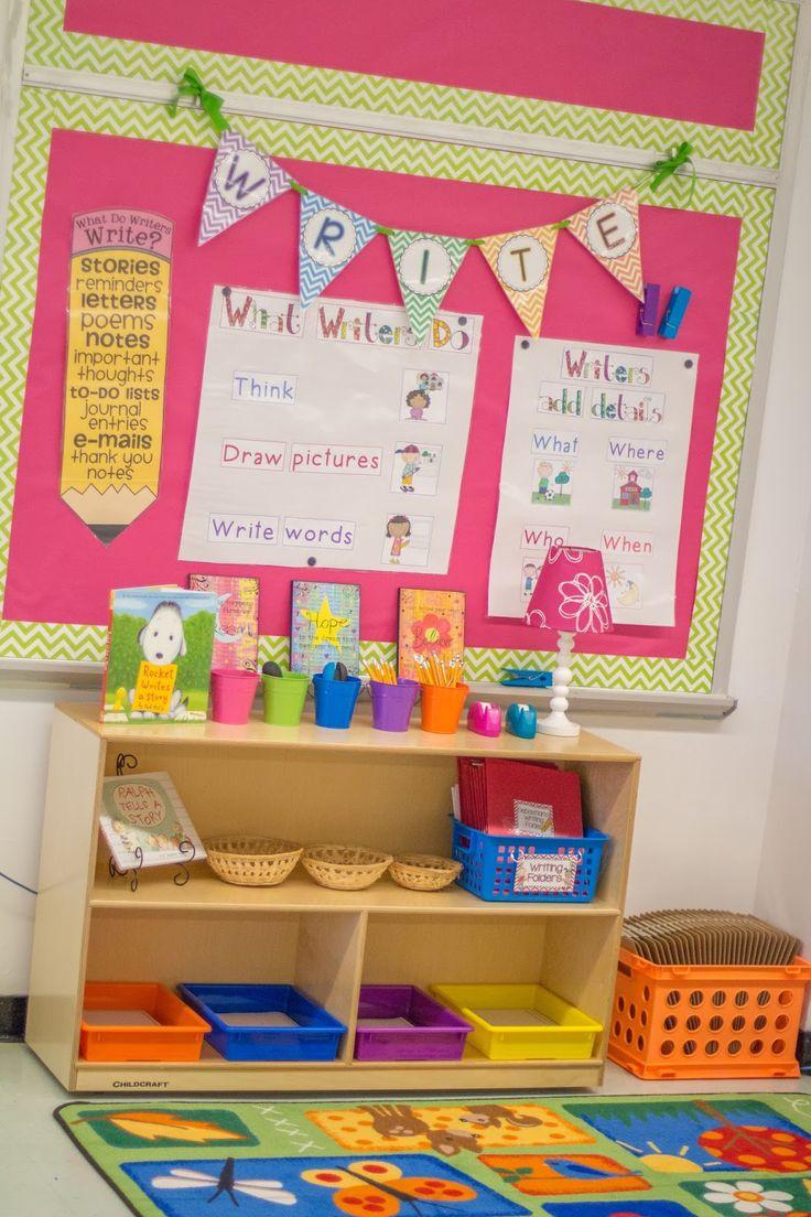 FREE Banner letters- Mrs. Riccas Kindergarten: Classroom Organization! {FREEBIES}