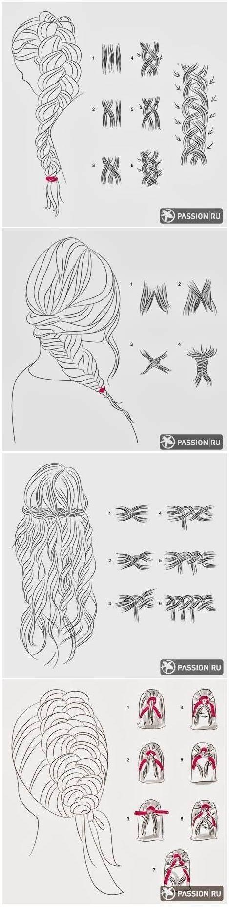 La tresse est une coiffure classique et classe : C'est la coiffure la plus anciennes ,les tendances