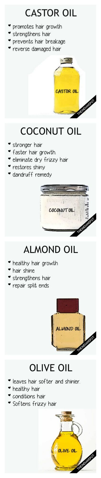 Jojoba Oil – Jojoba oil is capable of moisturizing the follicles of hair and hence can make hair str