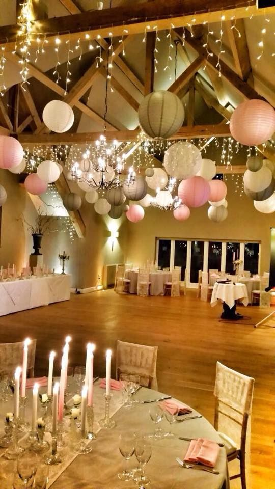 We love this Vintage Glamour wedding lanterns look by House of Bunting, Gloucs. Us