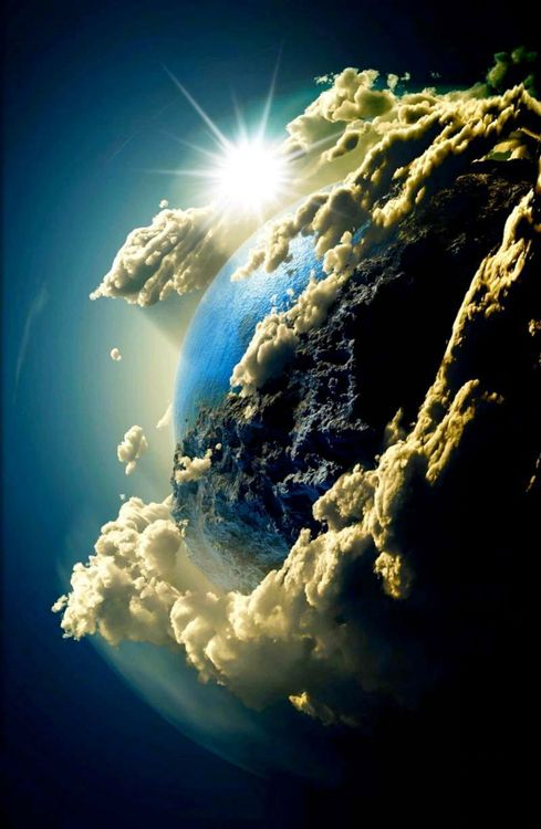 Earth, what an awesome picture… I love the beauty of the word :-)