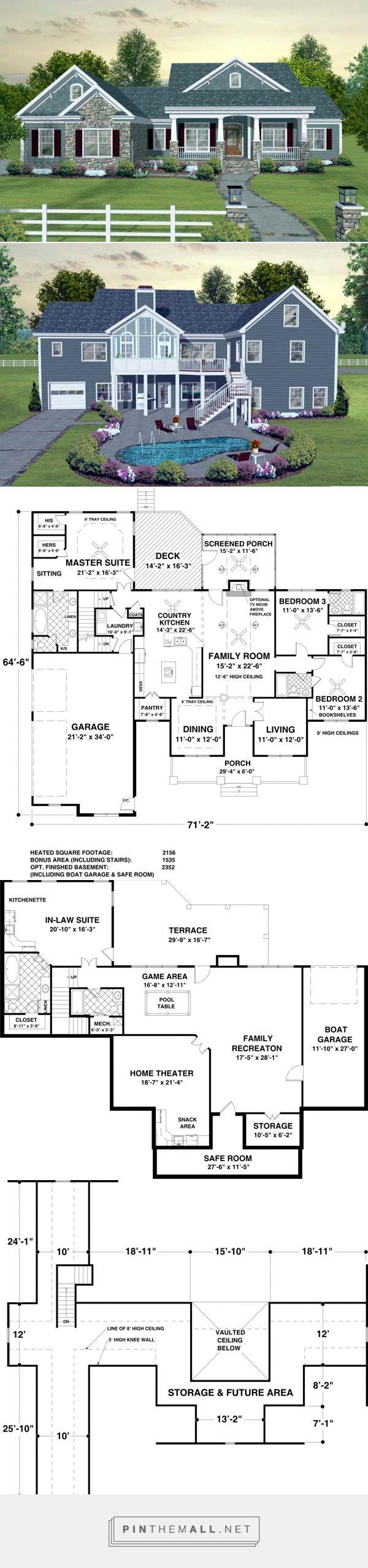 House Plan chp-45369 at COOLhouseplans.com –