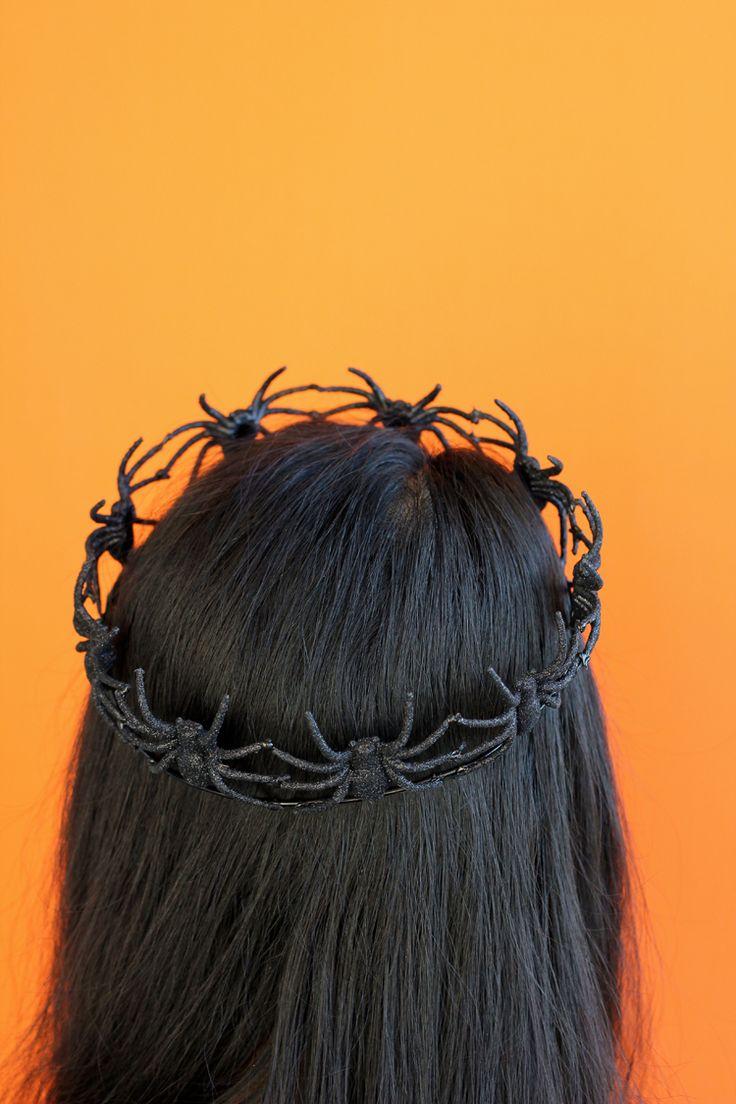 Easy Spider Crown TUTORIAL // Delia Creates #michaelsmakers