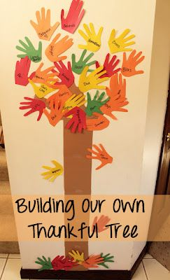 Make paper hand cutouts from your childrens hands. Write things they are than