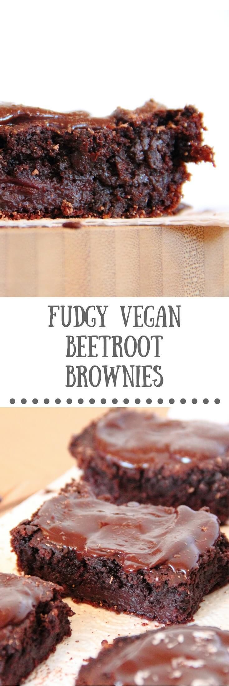 The only vegan beetroot brownie recipe youll ever need! Dairy-free, egg-free.