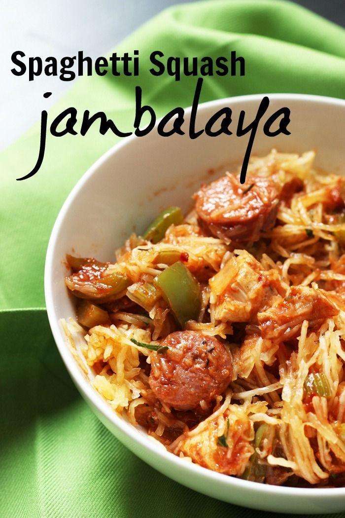 Spaghetti Squash Jambalaya | Good Cheap Eats  Spaghetti Squash Jambalaya just may