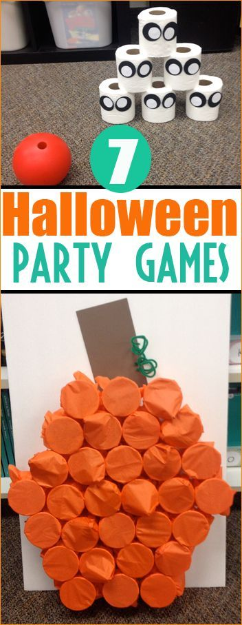7 Halloween Party Games.  Boo-rific games and activities for a Halloween Class Par