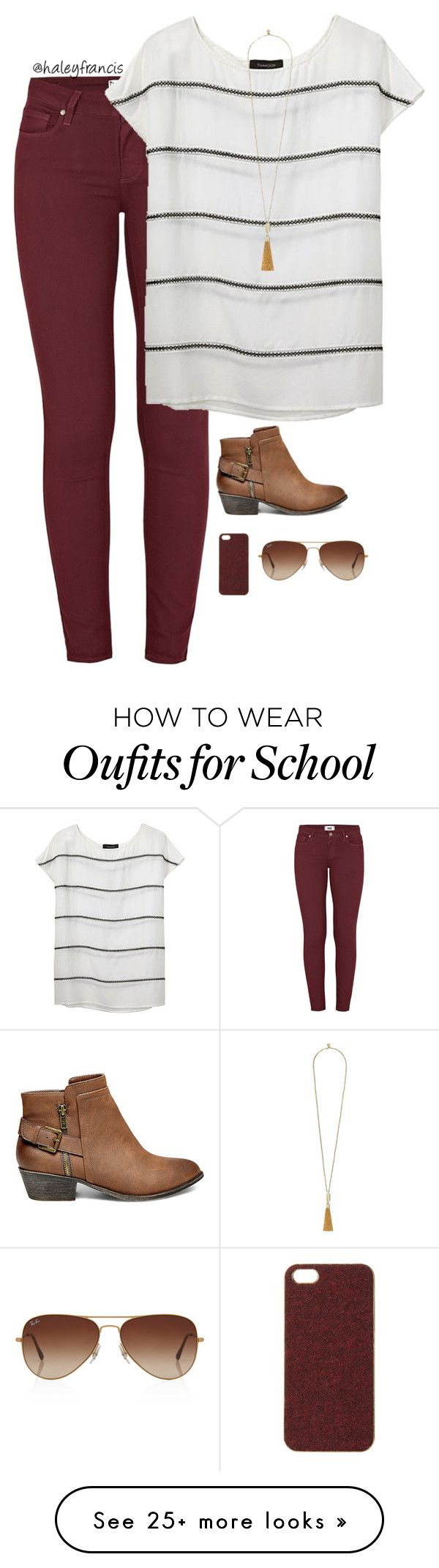 """""""Only 1 more week of school!!"""" by haleyfrancis on Polyvore featuring Pai"""