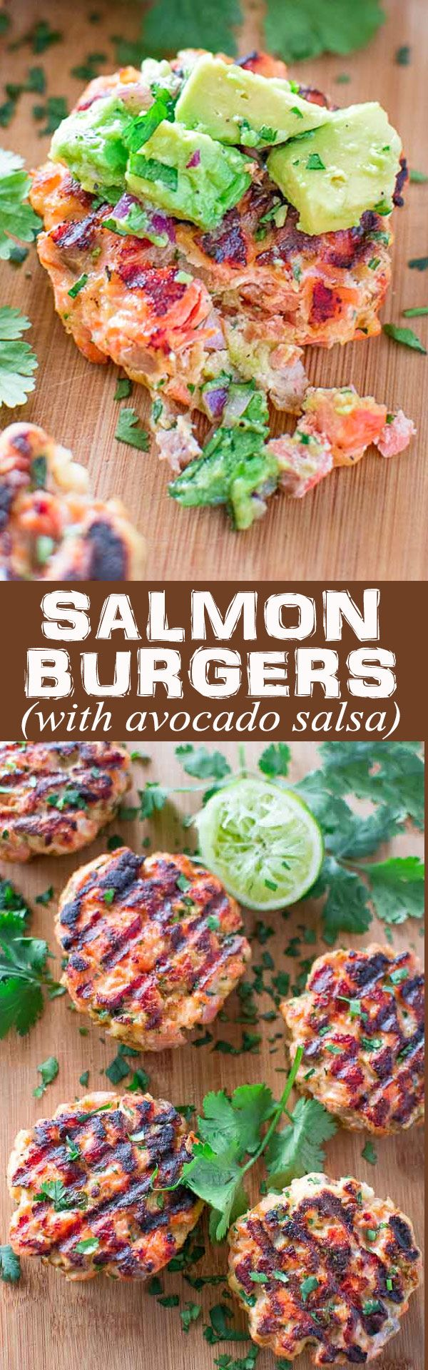 Tasty, healthy and easy to make this Salmon Burger recipe is unavoidable! Serving