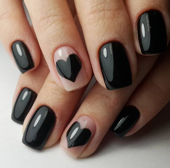 And dont forget… even though black nails make a certain kind of statement,