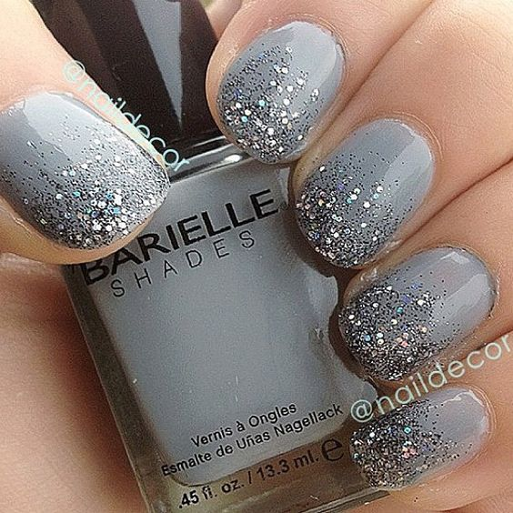 90+ Beautiful Glitter Nail Designs that you will for sure love to try. browse for
