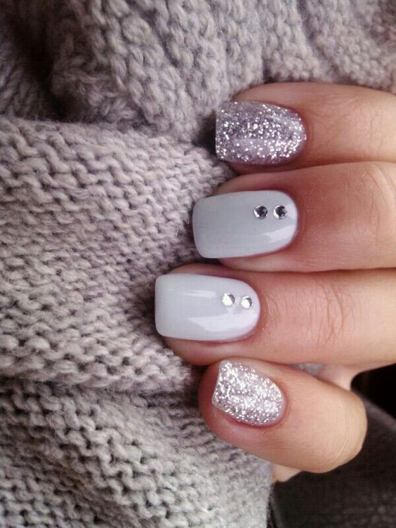 Glitter Nail Designs are continually a terrific choice for the winter time, especi