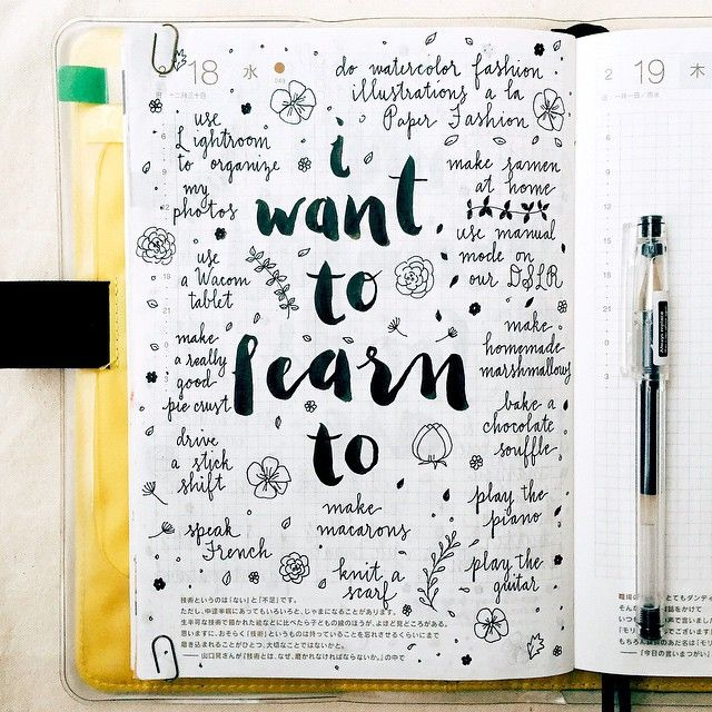pepperandtwine:There are so many things I want to learn to do, some more realistic