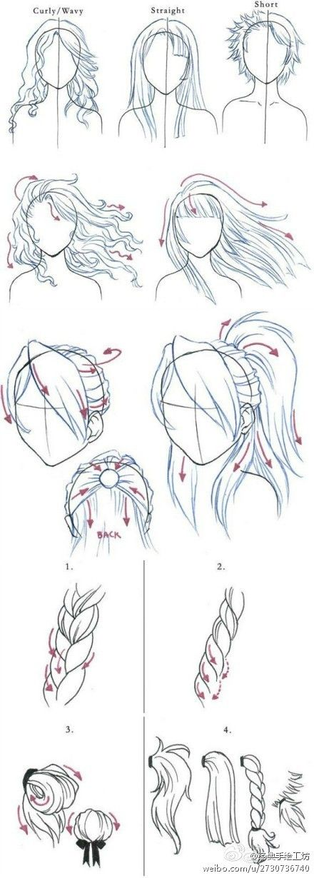 hair drawing loads of new ideas come to mind looking at this