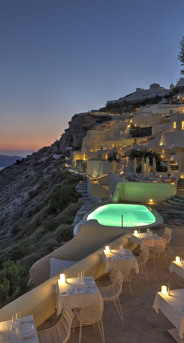 Mystique hotel – Santorini, Greece.