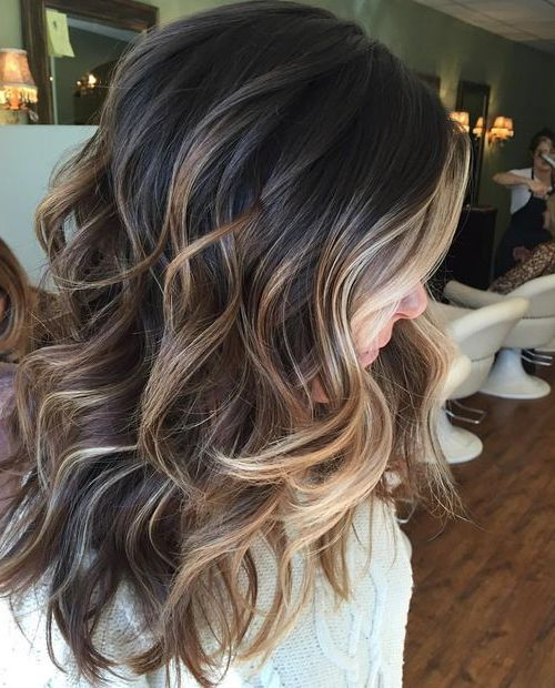 Perfectly blended brunette balayage Hairstyles Ideas for Fall – Winter