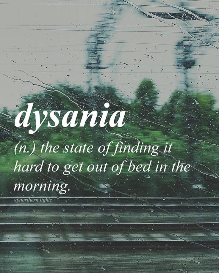 Who else has dysania today? Follow @Gretchen Burke.lightz for more unique words an