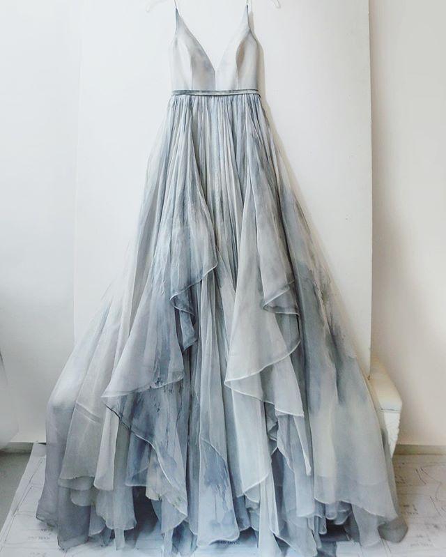 Leanne Marshall Gabrielle #dress in Rain Cloud – Limited Edition.
