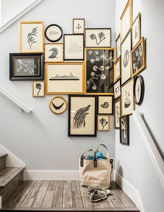 How To Decorate an Awkward Space with a Gallery Wall   Apartment Therapy