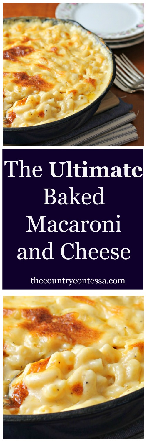 The ultimate crowd pleasing comfort food in the richest, creamiest sauce. Baked in