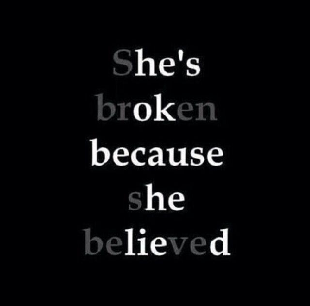Shes Broken, Hes Ok broken heartbroken ok sad quotes instagram instagram pictures