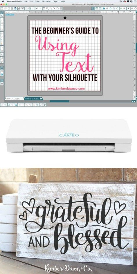 A Beginners Guide to using fonts with your Silhouette CAMEO : How to use any font