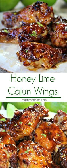 Citrus and spicy, with a hint of honey sweetness, these Cajun Honey Lime Chicken W